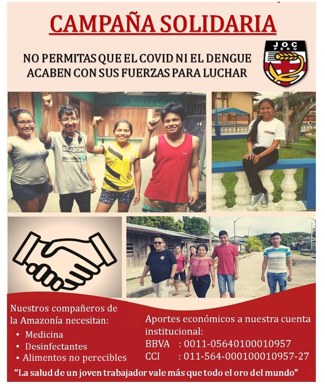 pub 2006 033 s poster campaña solidaria joc Perú