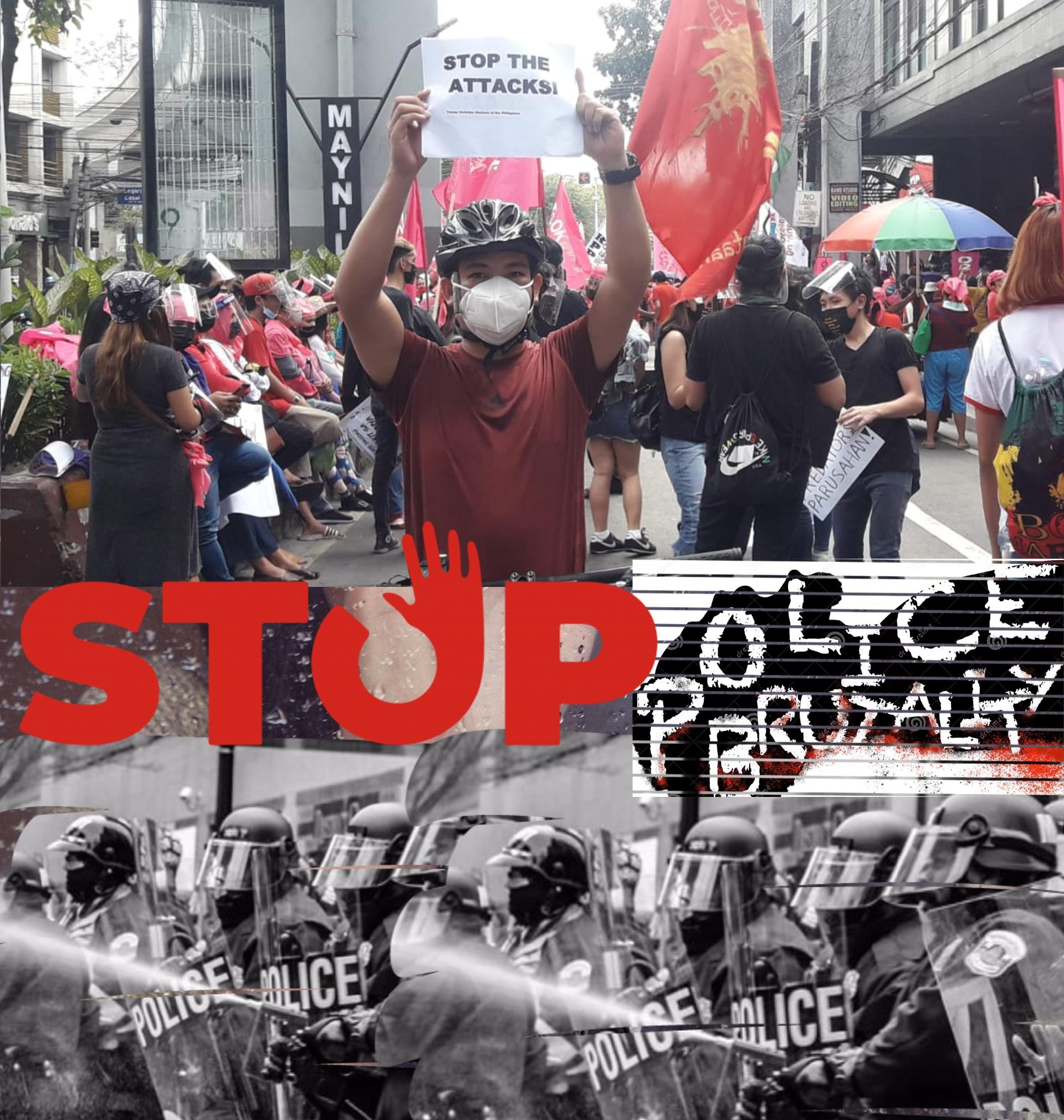 Police repression photo